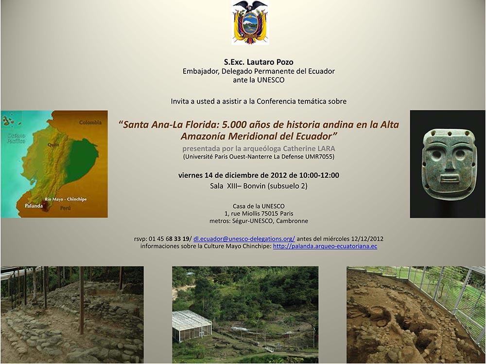 Santa Ana-La Florida: 5.000 años de historia andina en la Alta Amazonía Meridional del Ecuador